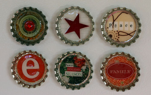 Christmas Bottle Caps